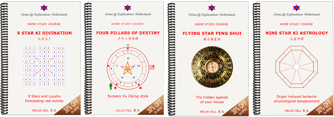 Heluo Hill Home Study Course Feng Shui, 9 Star Ki, Four Pillars of Destiny Astrology